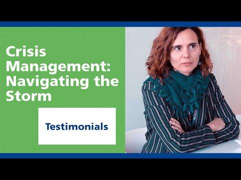 GCSP: Crisis Management -  Navigating the Storm