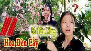 Bà Tiên Vlog - Làm Cây Hoa Đào Bằng Nến Đón Tết