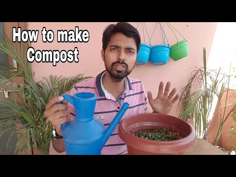 How to make compost at home step by in hindi
