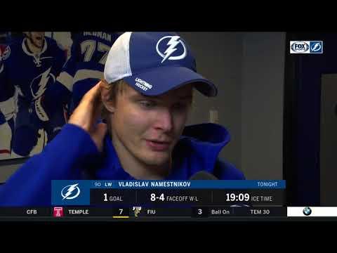 Vladisav Namestnikov -- Tampa Bay Lightning vs. Ottawa Senators 12/21/2017