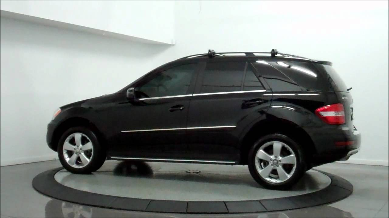 2011 mercedes benz ml350 4matic luxury youtube