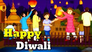 HAPPY DIWALI SONGS FOR KIDS (Animated Video)//Diwali Songs For Kids//Happy Diwali Song//Diwali Song