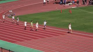 第102回日本選手権リレー 男子4×400mR 10/28/12:10 予選3組 3×2+2 順位 レーン...