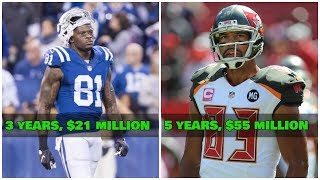 The NFL's 10 WORST Wide Receiver Free Agent Signings EVER!