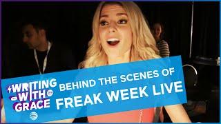 Behind The Scenes of My Freak Week Live Read / WWG EP 10 // Grace Helbig