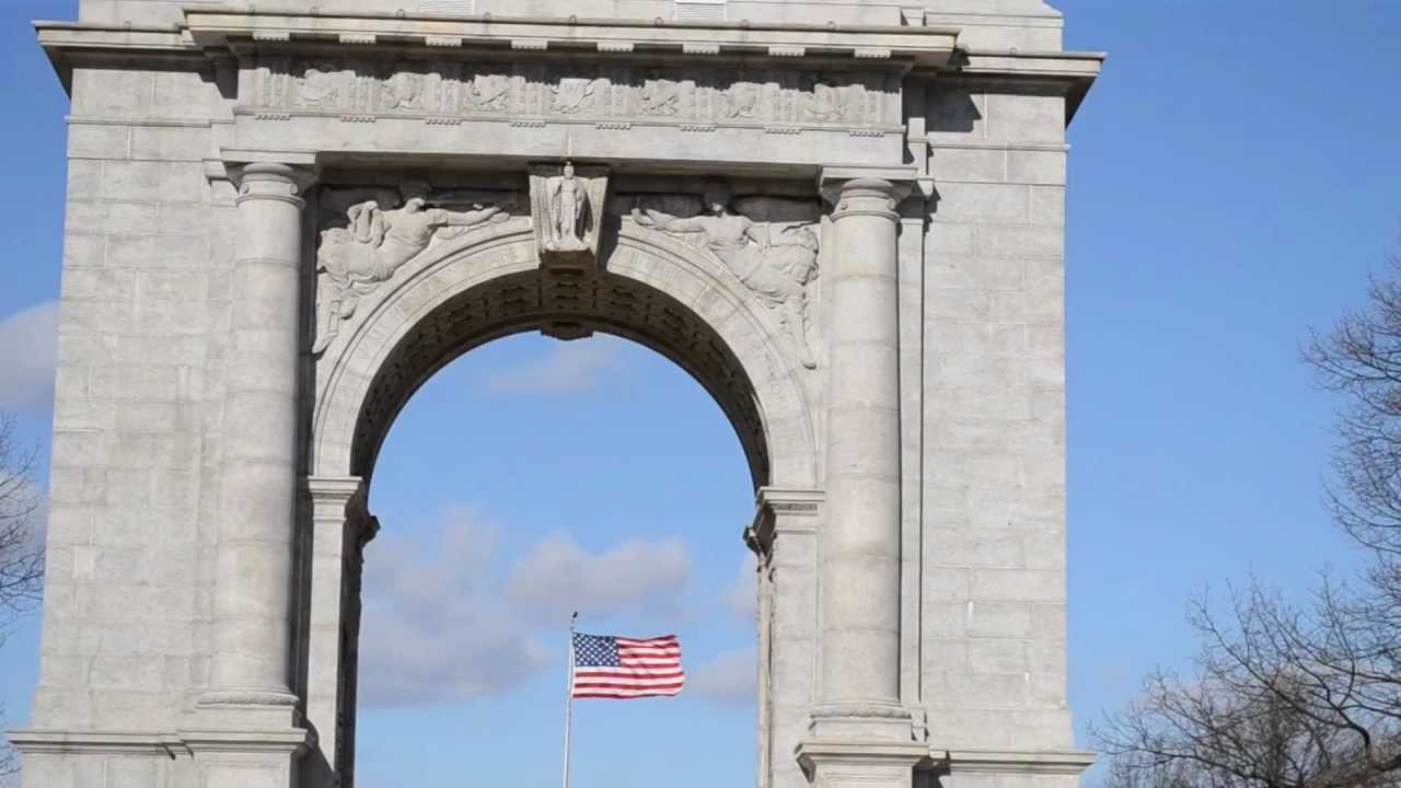 National Memorial Arch At Valley Forge National Park Valley Forge Pennsylvania Youtube