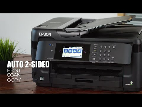 Epson WorkForce WF-7710 All-in-One | Take the Tour of the Wide-Format Printer