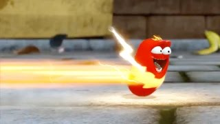 LARVA ❤️ The Best Funny cartoon 2017 HD ► La RED THUNDER ❤️ The newest compilation 2017 ♪♪ PART 56