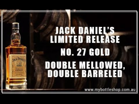 Jack Daniel's No. 27 Gold Limited Release Tennessee Whiskey