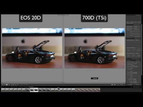 Canon EOS 20D vs 700D (Rebel T5i) | Comparativa