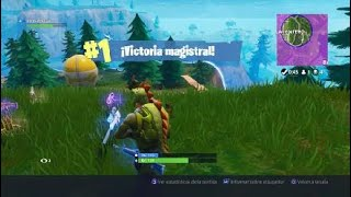 I WIN WITH THE SKIN OF DINOSAURIO!! FORTNITE