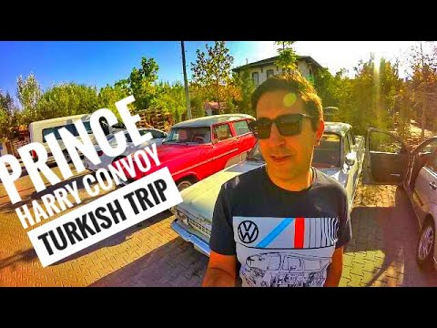 Prince Harry's Convoy - Trip to Turkey