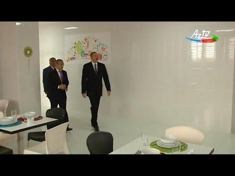"""Prezident """"Təhsil"""" Respublika İdman Mərkəzinin Zuğulba tədris idman bazasının açılışında"""