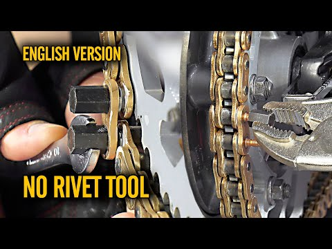 Chain Replacement No Rivet Tool