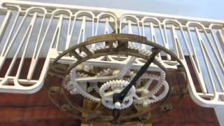 Wooden Clock (Serpina)
