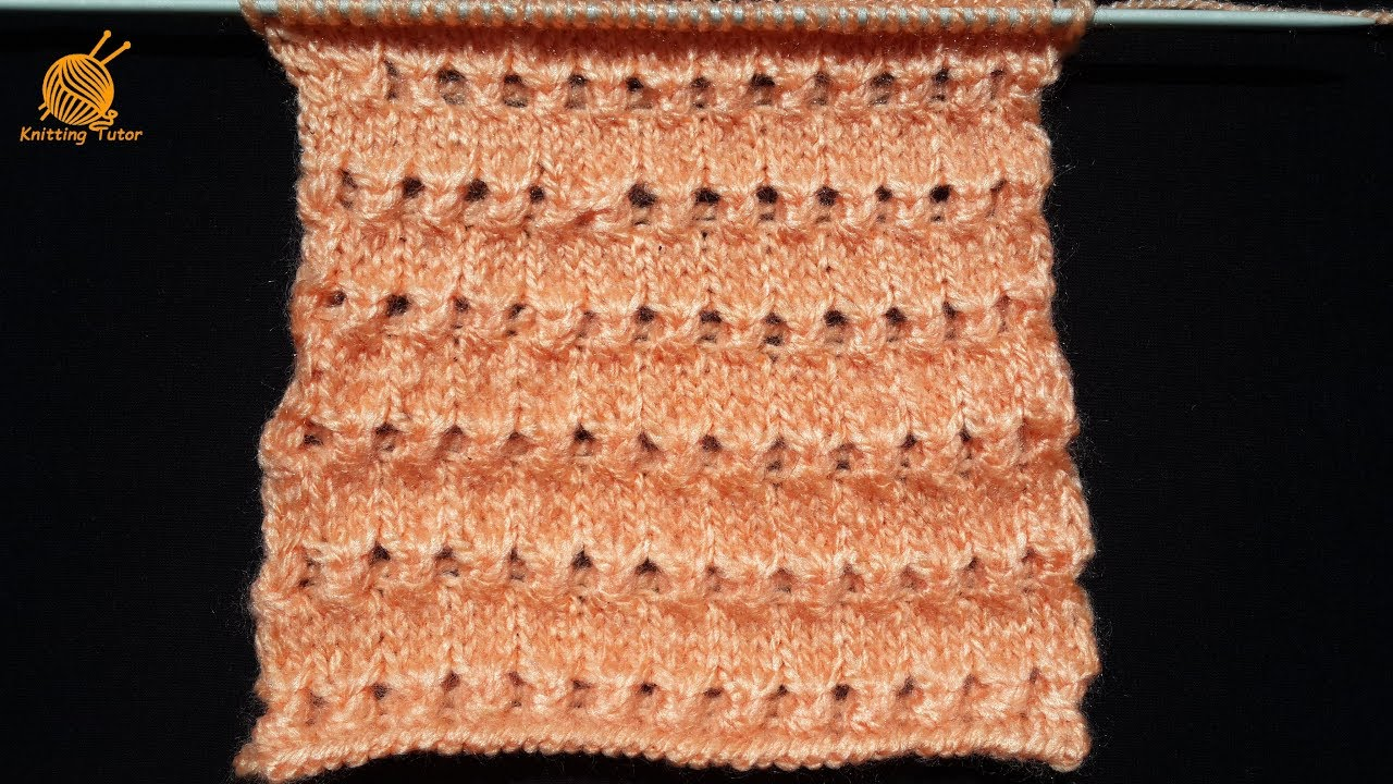 b1134e12c 66- Single Colour Knitting Pattern for Baby Sweater - YouTube