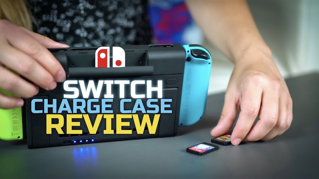 more photos bf522 648d1 Double Your Battery Life - Antank Nintendo Switch Battery Case Review