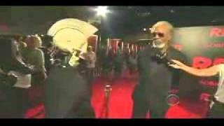 Robot does INCREDIBLE Morgan Freeman impression! (clip) (Josh Robert Thompson)