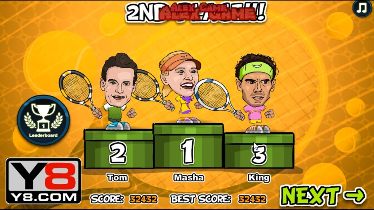 What To Play Sport 5 10 Tennis Legends 2016 Flash Y8 Youtube
