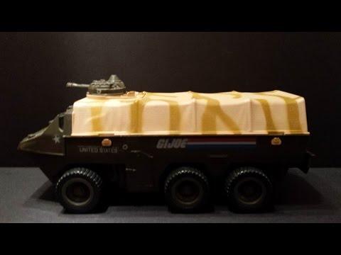 HCC788 - 1983 A.P.C. Amphibious Personnel Carrier - Vintage G. I. Joe toy review! HD