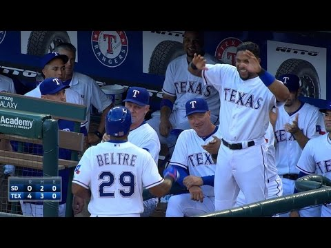 SD@TEX: Fielder, Beltre Go Back-to-back In The 4th