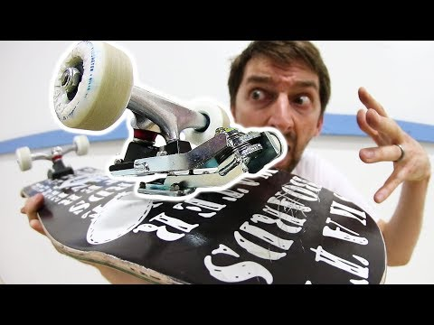 SUPER CRAZY SURF SKATEBOARD TRUCK MOUNT! | THE WATERBORNE SURF SKATEBOARD