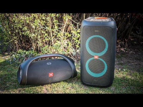 JBL Boombox 2 Vs JBL Partybox 100 [3d Binaural Audio]