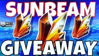*Huge Sunbeam Giveaway * Fortnite Save World