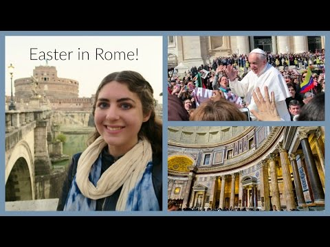 Seeing the Pope, Easter at the Vatican & Tourist-Free Rome!