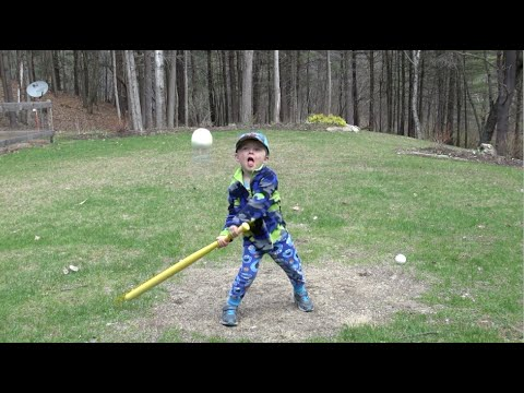 THE CRAZIEST WIFFLE BALL BATTER EVER thumbnail