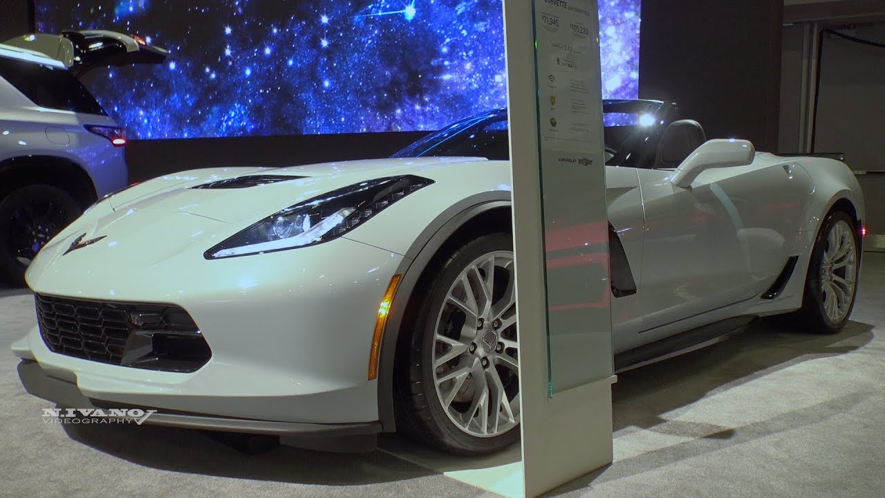 2018 Chevrolet Corvette Z06 Convertible Exterior And Interior Walkaround Ottawa Auto Show