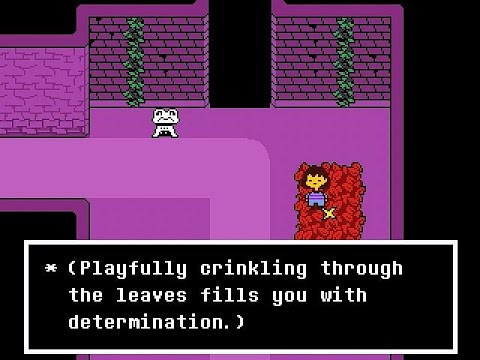 Undertale (Pacifist) - Part #01: The Ruins