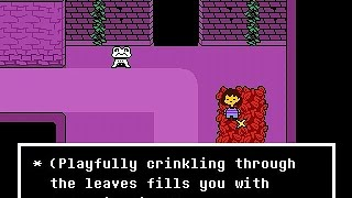 This is Undertale! It's an indie RPG created by Toby Fox. Taking in...