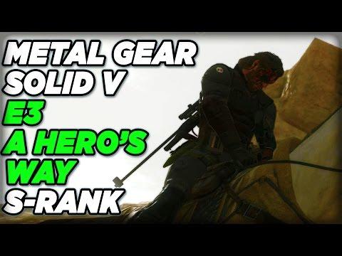 metal gear solid 5 phantom pain a heros way