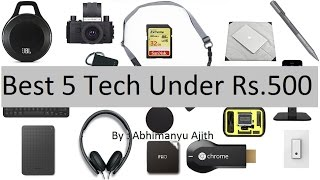 best tech gadgets under 500 8 top 5 cool tech india amazon in 2017