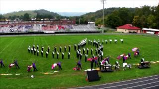John S. Battle High School Trojan Marching Band @ Chilhowie Apple Festival 2012