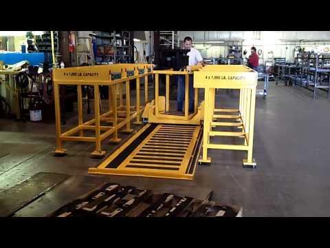 Titan Die Cart 2718: -- 1,000 lb Capacity with Racks