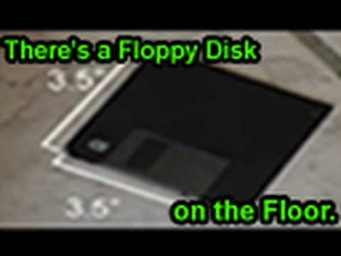 There's a Floppy Disk on the Floor (Original Song)