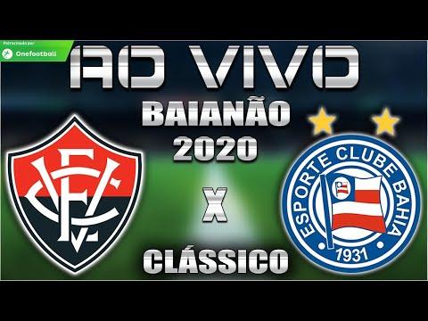 Vitória x Bahia Ao Vivo   BAVI   Baianão 2020   6ª Rodada   Narração