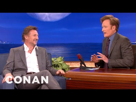 Liam Neeson & Conan Are Pasty Irishmen - CONAN on TBS