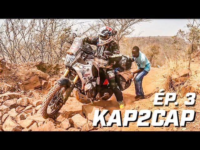 Kap2Cap Ép.3  ► Coup de chaud en Guinée ► 26.000 km en Ténéré 700