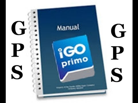 gps igo primo manual completo em portugu s gr tis youtube. Black Bedroom Furniture Sets. Home Design Ideas