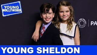 Iain Armitage Obsesses Over Freddie Mercury & David Bowie with Young Sheldon Cast!