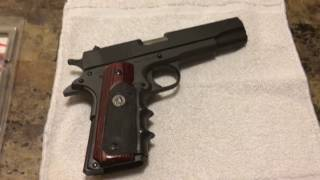 New Pachmayr American End Grips Rock Island Armory