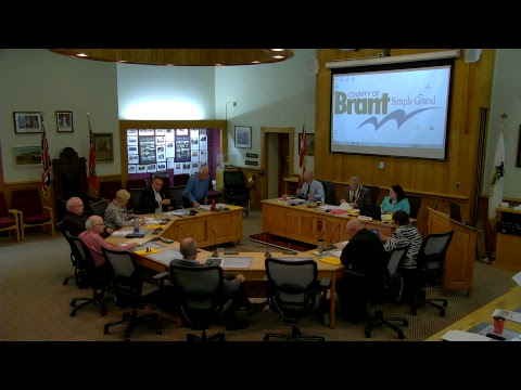Brant County Council Meeting May 23 2017