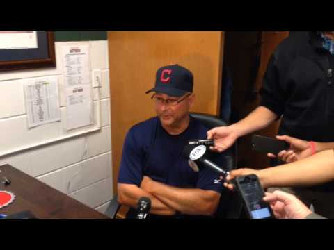 Terry Francona on why he used Nick Hagadone in the ninth