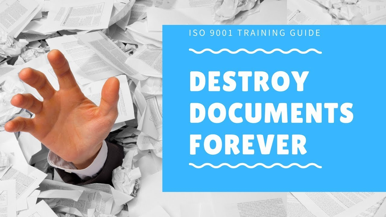 HOW TO REDUCE DOCUMENTS WITH 5 TECHNIQUES THAT COMPLY WITH ISO 9001 ...