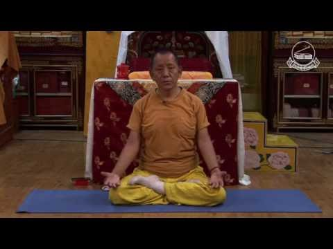Practice and benefit of Yoga by Ven. Lobsang Dhonden
