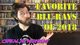 Favorite Blu-rays of 2018 (Collecting Physical Media)
