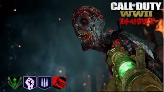 THE TORTURED PATH DERROTANDO JEFES Y BUSCANDO EL EASTER EGG | WORLD WAR 2 ZOMBIES